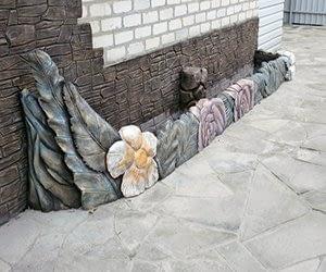 декоративный камень из цемента
